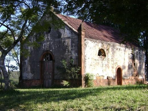 Capela Nossa Senhora do Monte Bérico em Jaguari
