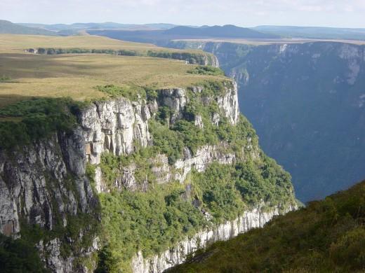 Cânion Fortaleza, Parque Nacional da Serra Geral em Cambará do Sul